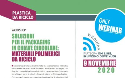 Workshop – Soluzioni per il packaging in chiave circolare: materiali polimerici da riciclo