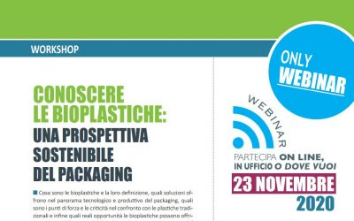 Workshop – Conoscere le bioplastiche: una prospettiva sostenibile del packaging