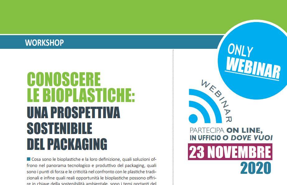 Workshop Conoscere le bioplastiche