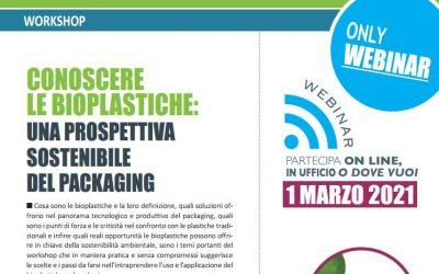 Conoscere le bioplastiche: una prospettiva sostenibile del packaging. Edizione 2021