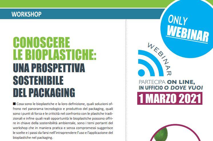 Conoscere le bioplastiche prospettiva sostenibile 2021