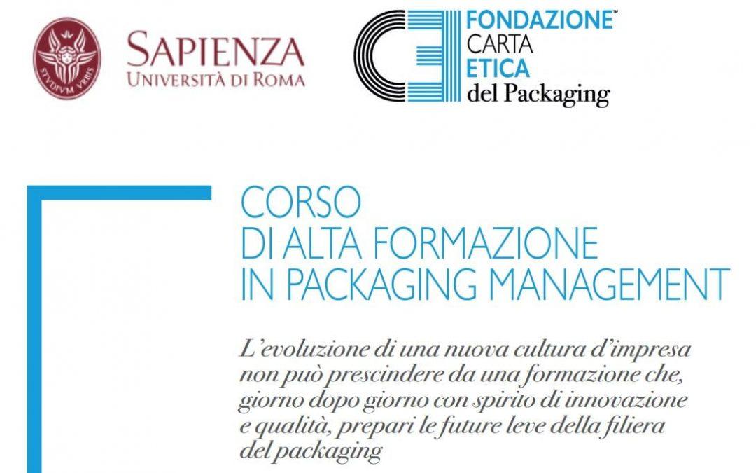 Alta formazione Packaging Sapienza Roma