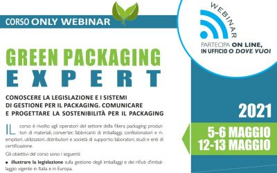 Green Packaging Expert. Edizione maggio 2021.