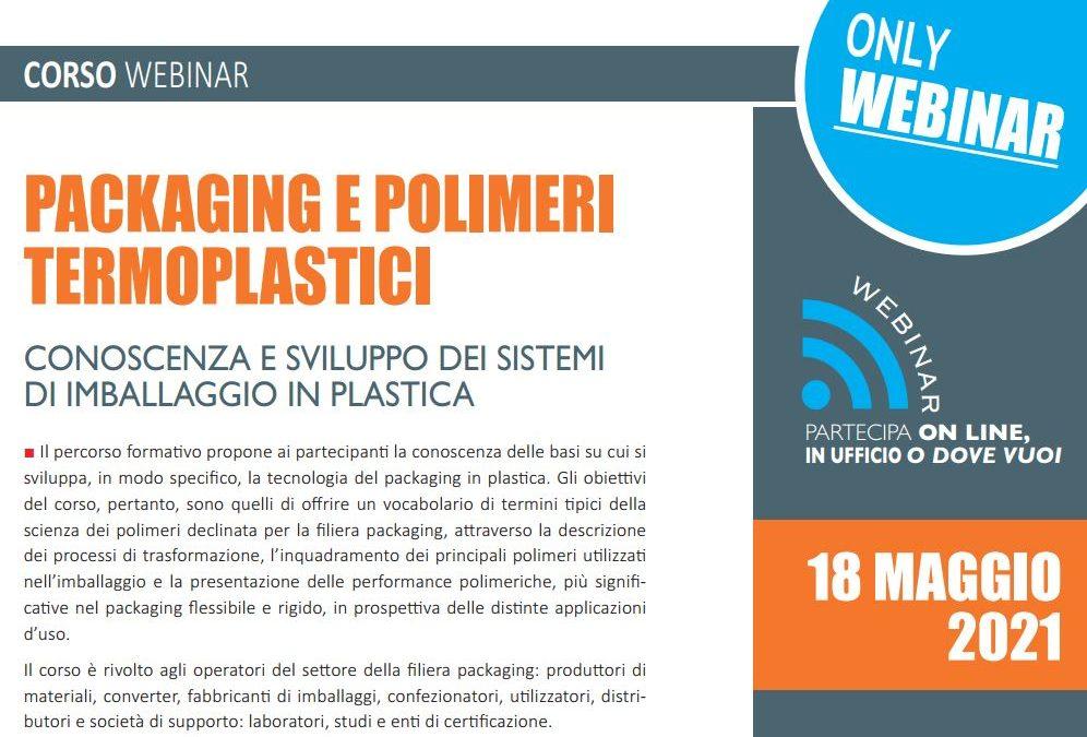 Packaging e polimeri termoplastici maggio 2021