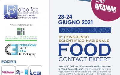 9° Congresso scientifico nazionale FOOD CONTACT EXPERT