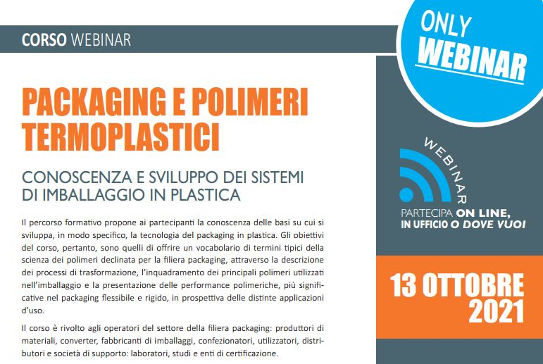 Packaging e polimeri termoplastici. Ottobre 2021